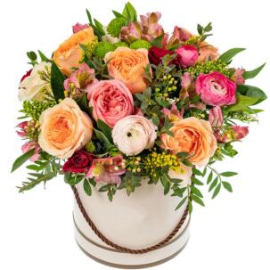 """Цветы в коробке """"Лесная нимфа"""""""