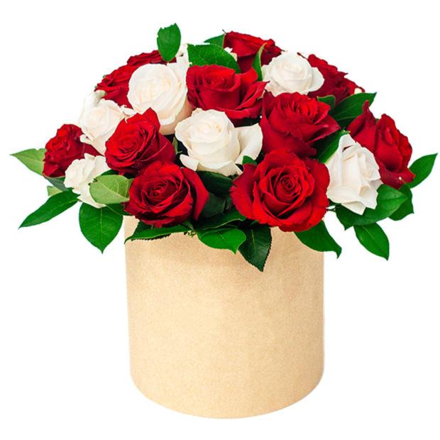 """Цветы в коробке """"Любовь"""""""