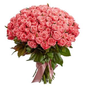 Розы Эквадор персиковые